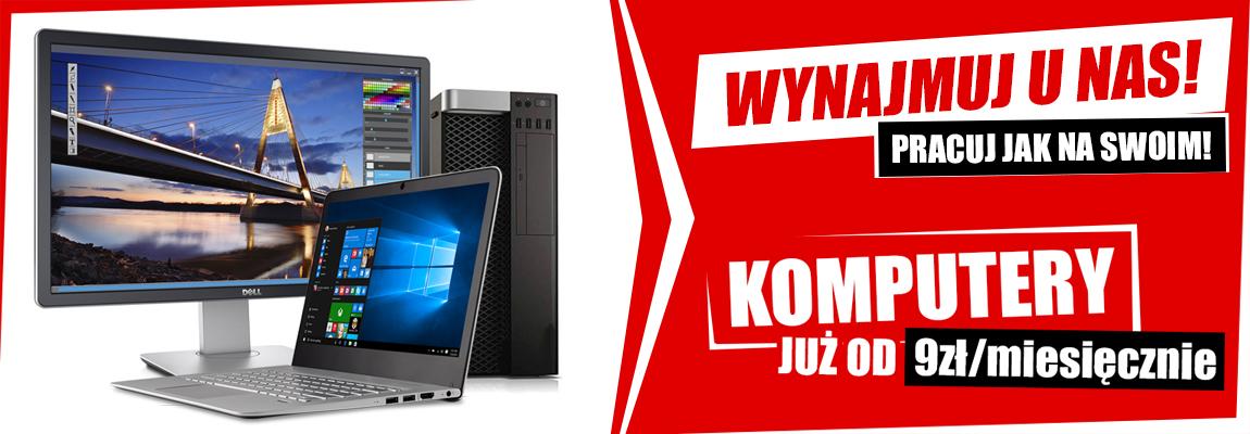 Wynajem komputerów - Microtech - tanie markowe używane komputery, laptopy, monitory