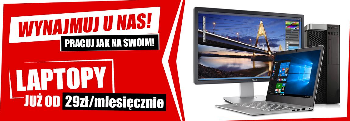 Wynajem markowych laptopów - Microtech - tanie markowe używane laptopy, monitory, komputery